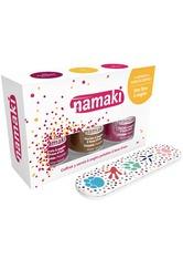 Namaki Produkte Nagellack Set - Himbeere. Gold. Fuchsia  1.0 pieces