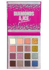 NYX Professional Makeup Lidschatten Diamonds & Ice - The Mega 16-Pan Shadow Palette Lidschattenpalette 1.0 pieces