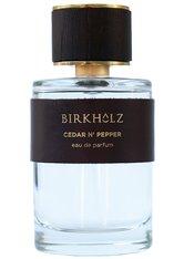 BIRKHOLZ - Birkholz Cedar N' Pepper Cedar N' Pepper Eau de Parfum Nat. Spray 100 ml - PARFUM