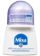 Mixa Deodorant 0% Aluminium Salze Deodorant Roll-on Deodorant 50.0 ml