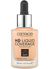 CATRICE - Catrice Teint Make-up HD Liquid Coverage Foundation Nr. 030 Sand Beige 30 ml - FOUNDATION