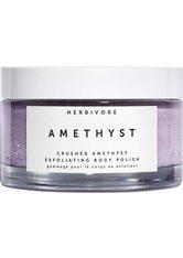 HERBIVORE - Herbivore Produkte Amethyst Gemstone Body Scrub Körperpeeling 200.0 g - KÖRPERPEELING