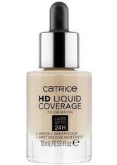 Catrice HD Liquid Coverage Mini Flüssige Foundation 10 ml Nr. 010
