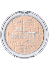 CATRICE - Catrice Teint Puder All Matt Plus Shine Control Powder Nr. 010 Transparent 10 g - GESICHTSPUDER