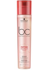Schwarzkopf Professional Haarshampoo »BC Bonacure Peptide Repair Rescue Micellar Shampoo«, 1-tlg., Für feines bis normales geschädigtes Haar