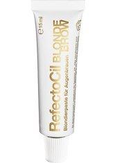 RefectoCil Augenbrauen- und Wimpernfarbe Blond, hellt Augenbrauen um bis zu 3 Stufen auf - nur mit Oxidant 3 % Creme, Bestell-Nr. 02 36 365 verwenden, Inhalt 15 ml