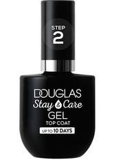 Douglas Collection Nagellack Stay & Care Gel Top Coat Nagellack 10.0 ml