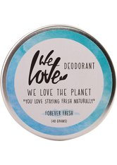 WE LOVE THE PLANET - We Love The Planet Natürliche Deo Creme - Forever Fresh 48 Gramm - DEODORANTS
