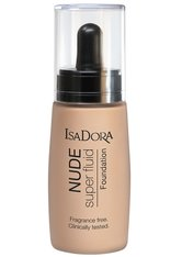 ISADORA - IsaDora Nude Fluid Foundation 30ml 16 NUDE ALMOND (Medium, Neutral) - FOUNDATION