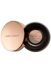 NUDE BY NATURE - Nude by Nature Radiant Loose Powder Foundation 10g W2 Ivory (Light, Warm) - GESICHTSPUDER