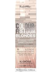 COLOUR-FREEDOM - Colour Freedom Haare Haarfarbe Blondes Non-Permanent Hair Toner Rose Blond 150 ml - HAARFARBE
