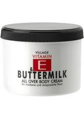 Village Pflege Vitamin E Body Cream Buttermilk 500 ml