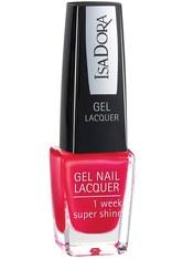 ISADORA - Isadora Gel Nail Lacquer Nr. 224 - Scarlet Red Nagellack 6.0 ml - Nagellack