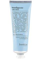 Jean&Len Körperreinigung Toothpaste soft white Zahnpasta 75.0 ml