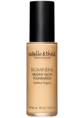estelle & thild BioMineral Healthy Glow Foundation 115 Dark Pink 30 ml Flüssige Foundation