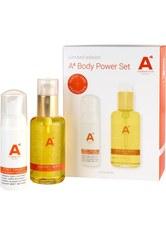 A4 Cosmetics Pflege Körperpflege Geschenkset Golden Body Oil 100 ml + Body Delight Shower Mousse 50 ml 1 Stk.
