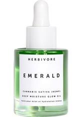 HERBIVORE - Herbivore Produkte Emerald Deep Moisture Glow Oil Gesichtsöl 30.0 ml - Gesichtsöl