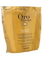 Fanola Haarpflege Oro Puro Therapy Oro Therapy De-Color Keratin Blondierpulver 500 g