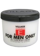 Village Vitamin E Bodycream for Men only Körpercreme 500.0 ml