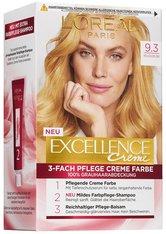 L'Oréal Paris Excellence Crème 9.3 Hellgoldblond Coloration 1 Stk. Haarfarbe