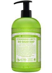 Dr. Bronner's Flüssigseife Zitronengras-Limette Bio Sugar Soap Seife 710.0 ml
