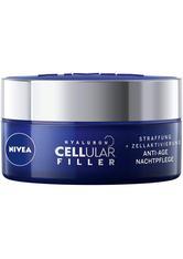 Nivea Pflege Hyaluron Cellular Filler Anti-Age Nachtpflege Nachtcreme 50.0 ml