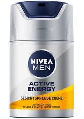 Nivea Pflege Active Energy Gesichtspflege Creme Gesichtscreme 50.0 ml