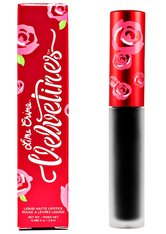 Lime Crime Velvetine Matte Lipstick 2.6ml Black Velvet (True Black)