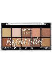 NYX PROFESSIONAL MAKEUP - NYX Professional Makeup Paletten Nr. 1 - Golden Hour Lidschattenpalette 17.7 g - Augen Primer