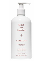 Björk & Berries Herbalist Hand & Body Lotion Bodylotion 400.0 ml