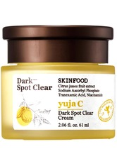 SKINFOOD Gesichtscreme YUJA C DARK SPOT CLEAR CREAM Gesichtscreme 61.0 ml
