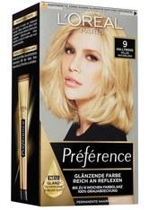 L'Oréal Paris Préférence 9 Helles Naturblond (Hollywood) Coloration 1 Stk. Haarfarbe