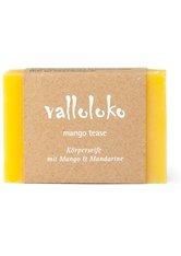 VALLOLOKO - Valloloko Mango Tease Mango & Mandarine Stückseife  100 g - SEIFE