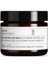 Evolve Organic Beauty Hautpflege Bio-Retinol Gold Mask Anti-Aging Pflege 60.0 ml