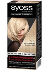 Syoss Permanentes Blond Kühles Blond Kühles Perlblond Haarfarbe 115 ml