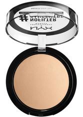 NYX Professional Makeup #NoFilter Finishing Powder Fixierpuder 9.6 g Nr. 07 - Medium Olive