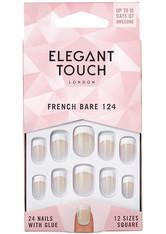 Elegant Touch Artificial Nails French Nails - 124 S Bare Kunstnägel 1.0 pieces