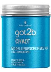SCHWARZKOPF - got2b Haarstyling GOT2B modellierendes Fibre Gum Chaot Haarwachs 100.0 ml - Haargel & Creme