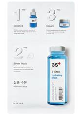 MISSHA - Gesichtsmaske - Hyaluronic Acid - 3step Lifting Mask