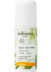 EUBIONA - Eubiona Produkte Active - Sport-Deo-Roller 50ml Deodorant Roller 50.0 ml - DEODORANTS