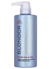 Wella Professionals Produkte Blondor Blonde Seal & Care Haarfarbe 500.0 ml