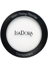 IsaDora Matt Fixing Blotting Powder 9g TRANSPARENT