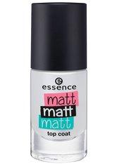 Essence Nägel Nagellack Matt Matt Matt Top Coat Nr. 37 Matt To Meet You 8 ml