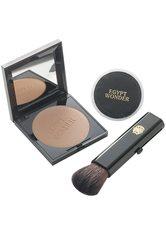 TANA - Tana Make-up Teint Egypt Wonder Compact Set Compact Puder + Kosmetiketui + Puderpinsel 1 Stk. - Gesichtspuder