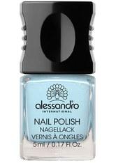 ALESSANDRO - Alessandro Make-up Nagellack Colour Explotion Nagellack Nr. 63 Peppermint Patty 10 ml - NAGELLACK