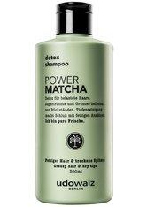 UDOWALZ BERLIN - udowalz Berlin detox shampoo Pure Matcha - SHAMPOO