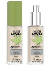 Bell Hypo Allergenic Foundation Nude & Moist Foundation 30.0 g