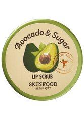 SKINFOOD Gesichtsreinigung AVOCADO & SUGAR LIP SCRUB Lippenpeeling 14.0 g