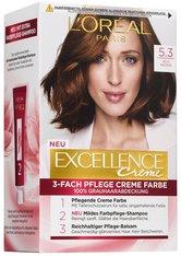 L'Oréal Paris Excellence Crème 5.3 Helle Kastanie Coloration 1 Stk. Haarfarbe