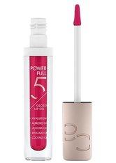 Catrice Power Full 5 Glossy Lip Oil Lipgloss 4.5 ml Raspberry Glow